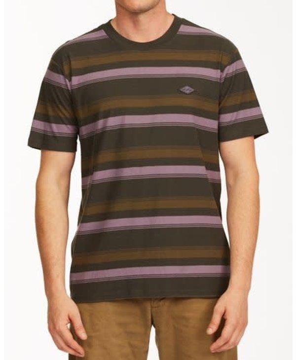 Billabong - T-shirt homme die cut crew neck raven