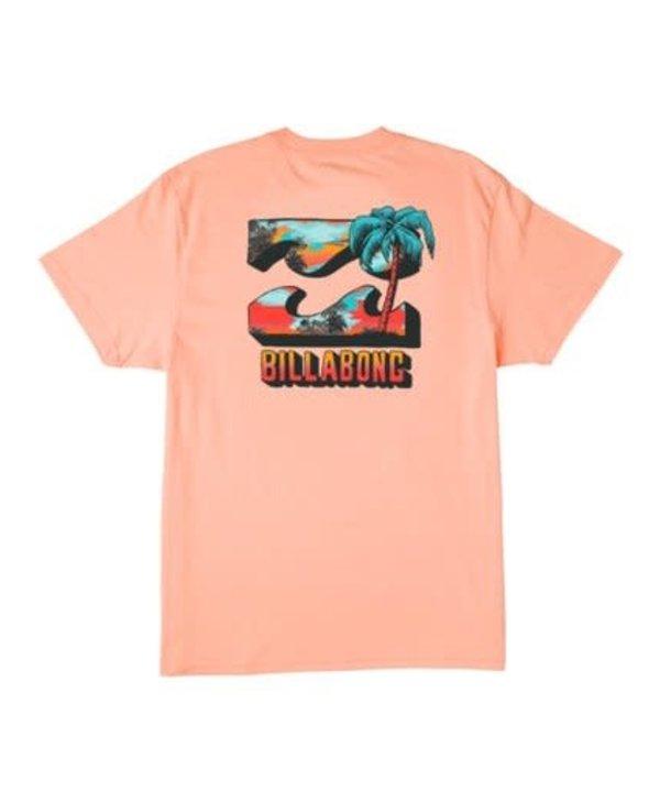 Billabong - T-shirt junior bbtv light peach