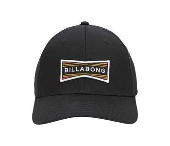 Billabong - Casquette homme walled snapback black