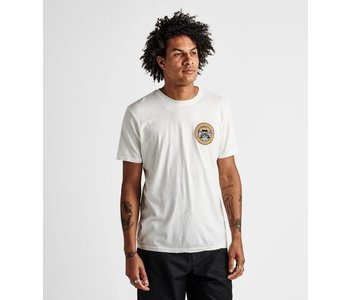 Roark - T-shirt homme expeditions of the obsessed off white