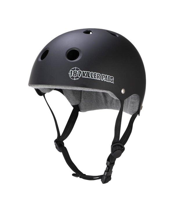 187 - Casque skateboard sweatsaver liner black matte