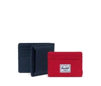 Herschel -Portefeuille homme andy navy red