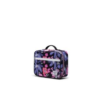 Herschel - Boîte à lunch pop quiz blurry floral/black crosshatch