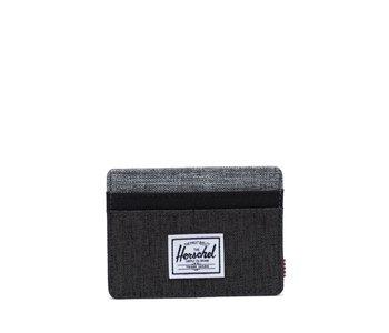 Herschel - Porte- cartes  charlie+ blk X/blk/ red X