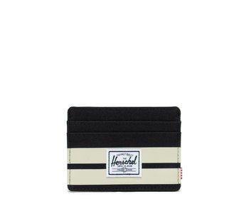 Herschel - Porte- cartes  charlie+ blk / birch stripe