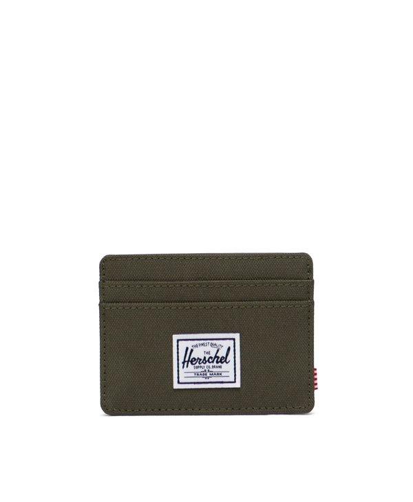 Herschel - Porte- cartes  charlie+ ivy green
