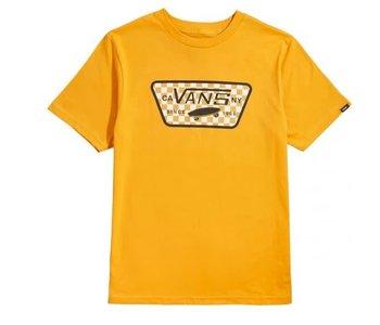 Vans - T-shirt junior full patch fill golden glow