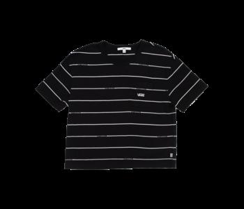 Vans - T-shirt femme otw stripe black