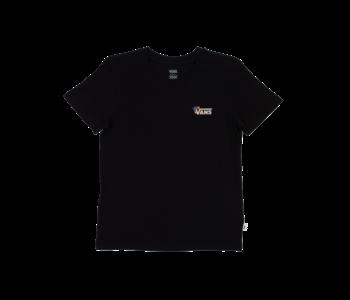 Vans - T-shirt femme floral v black