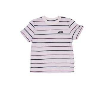 Vans - T-shirt junior pastel thin stripe orchid ice