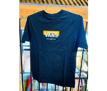 Vans - T-shirt junior easy logo dress blues