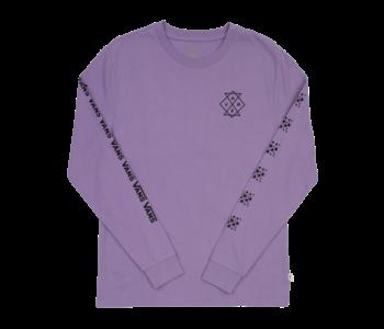 Vans - Chandail long femme group chat chalk violet