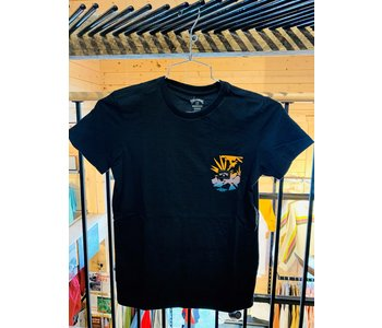 Billabong - T-shirt junior team pocket black