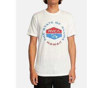 Rvca - T-shirt homme focused antique white