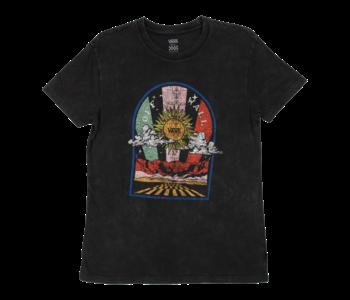 Vans - T-shirt femme road burn black