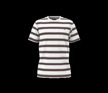 Vans - T-shirt junior gibbs stripe white