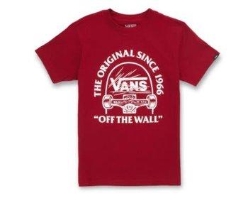 Vans - T-shirt junior original grind pomegranate