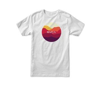 Rvca - T-shirt homme motors white