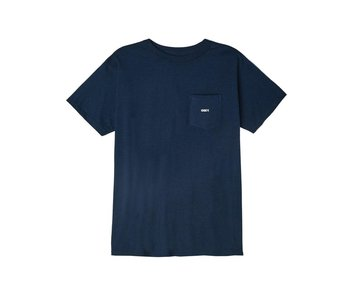 Obey - T-shirt homme obey bold knit navy
