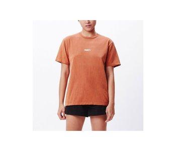 Obey - T-shirt femme obey bold 4 adobe