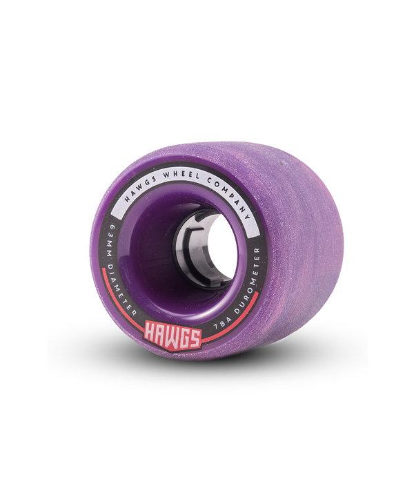 Hawgs - Roue cruiser fattie pink/purple swirl 78A