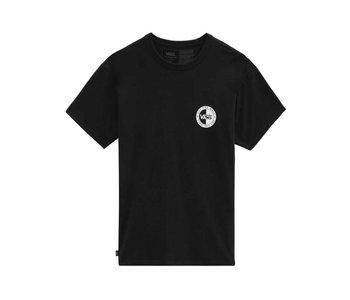 Vans - T-shirt homme slanted checker black