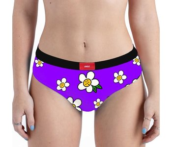 Undz - Boxer femme cheeky peace and love