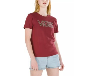 Vans - T-shirt femme animal v pomegenade