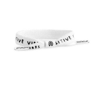 Rastaclat - Bracelet homme positive vibes white