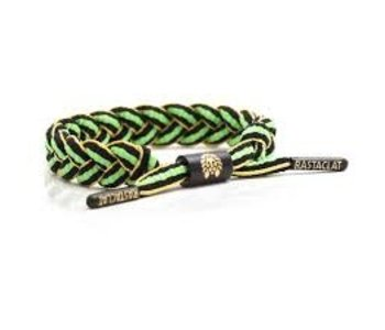 Rastaclat - Bracelet Jamaica jaune vert noir