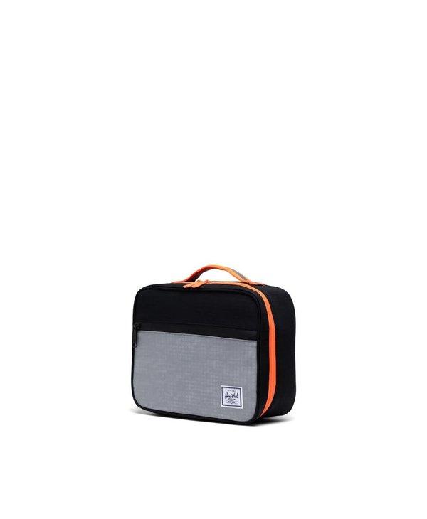 Herschel - Boîte à lunch pop quiz sharkskin enzyme ribstop/blk ensyme ripstop/shocking orange