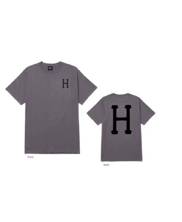 Huf - T-shirt homme essentials classic H charcoal