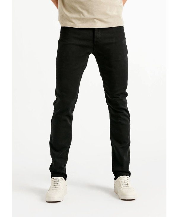 Du/er - Pantalon homme no sweat slim black
