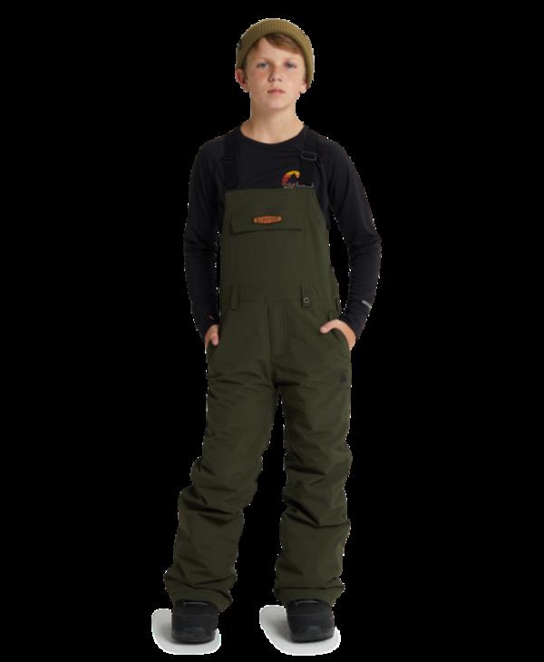 Burton - Pantalon junior skylar bib forest night