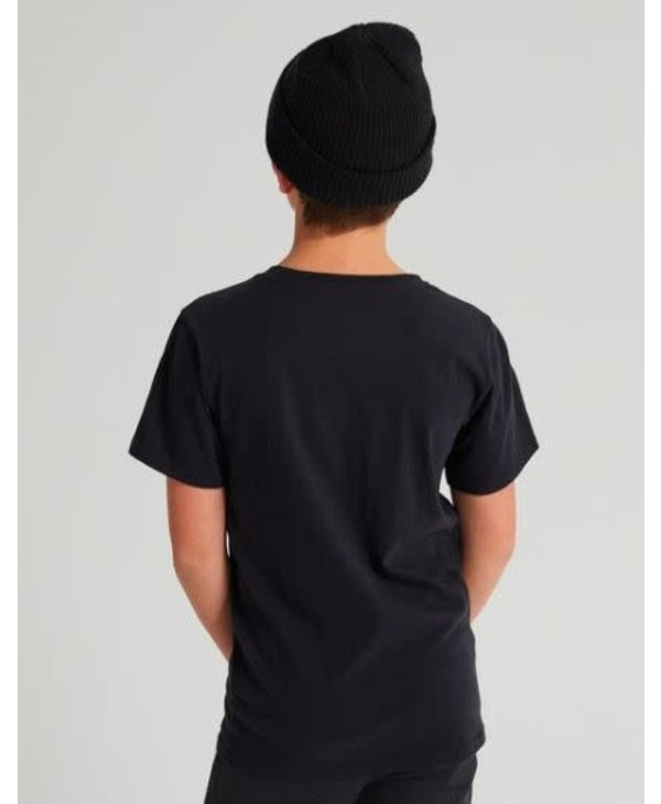 Burton - T-shirt junior classic mountain high true black