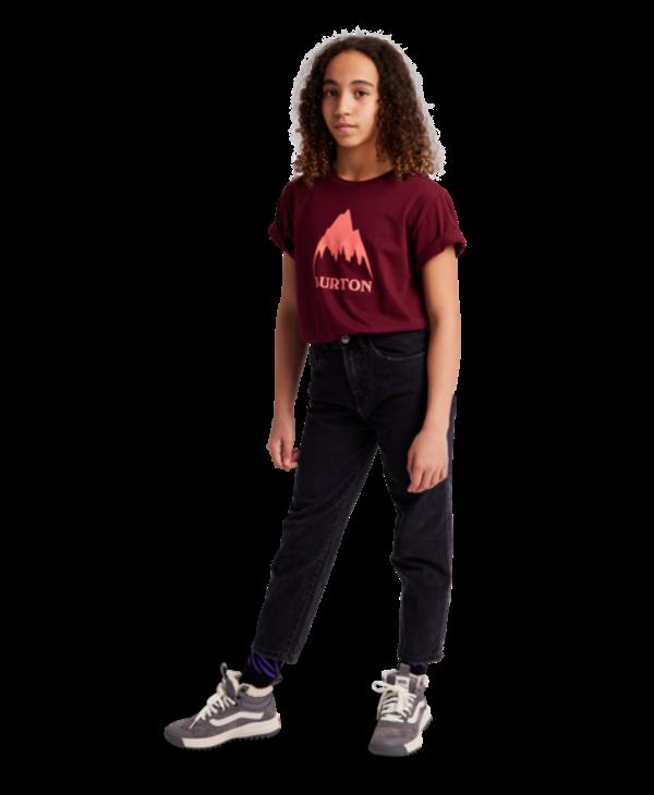Burton - T-shirt junior classic mountain high mulled berry