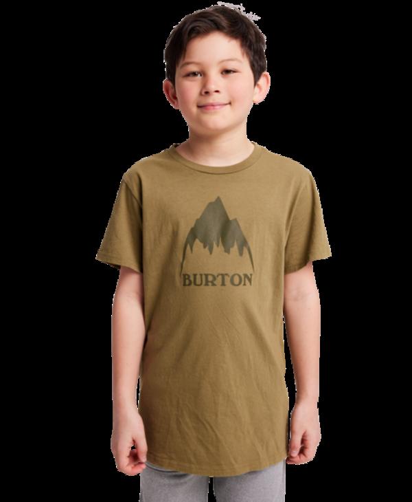 Burton - T-shirt junior classic mountain high martini olive