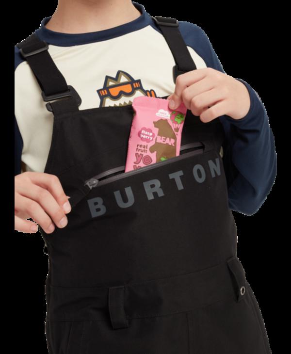 Burton - Pantalon junior gore-tex stark bib true black