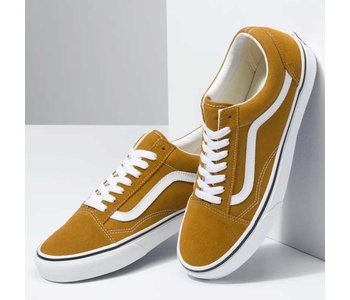 Vans - Soulier homme old skool golden brown/true white