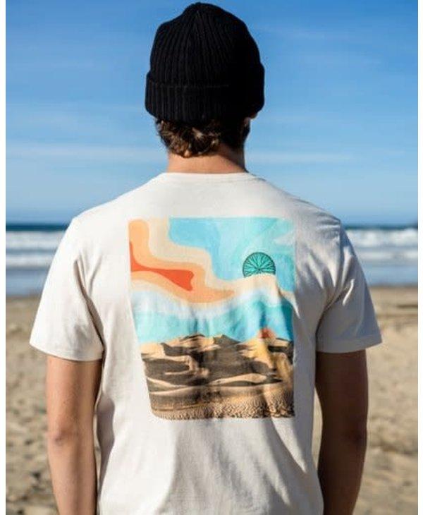 Billabong - T-shirt homme A/Div desert trip chino