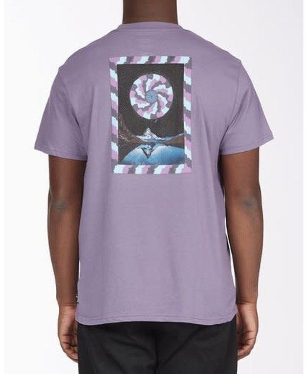 Billabong - T-shirt homme A/Div night mind purple haze