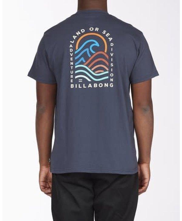 Billabong - T-shirt homme A/Div transition navy
