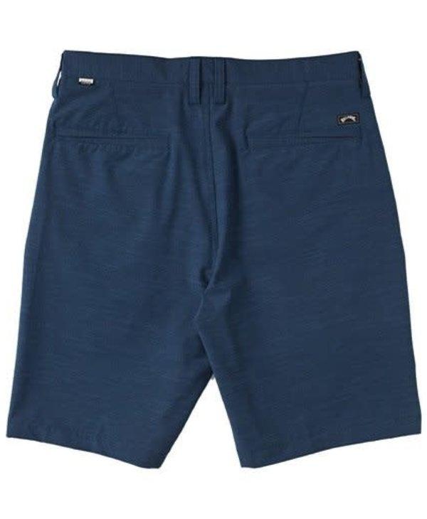 Billabong - Short homme hybrid crossfire slub denim blue