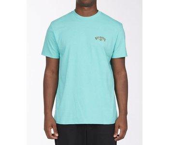 Billabong - T-shirt homme currents arch dark mint