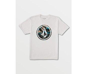 Volcom - T-shirt homme circle stone fill white