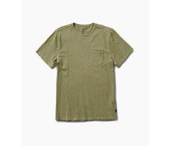 Roark - T-shirt homme well worn midweight organic army