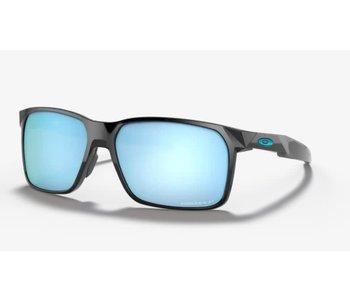 Oakley - Lunette soleil homme portal x polished black frame/prizm deep water polarised