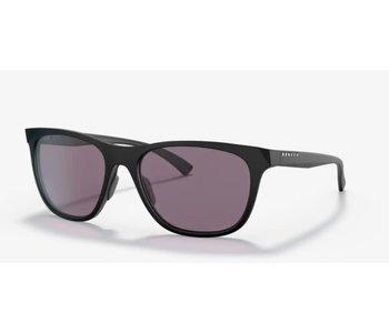 Oakley - Lunette soleil femme leadline matte black frame/ prizm grey lenses