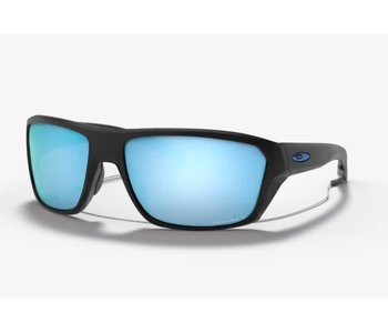 Oakley -Lunette soleil homme split shot matte black frame /prizm deep water polarized lenses