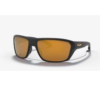 Oakley - Lunette soleil homme split shot matte black frame/prizm 24k polarized lenses